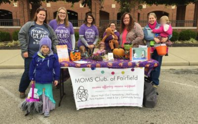 Trick or Treat with MOMS Club of Fairfield, OH!
