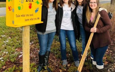 MOMS Club of Hickory, NC Installs Community Blessing Box