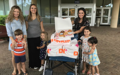 MOMS Club of Naples Donates Donuts