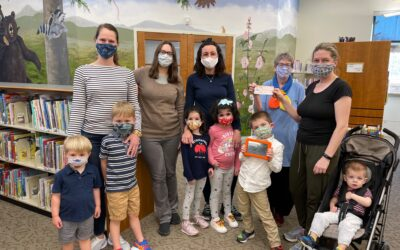 MOMS club fundraises for the local library